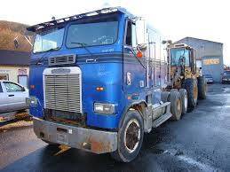 freightliner used trucks 1988 freightliner cabover tandem axle sleeper cab tractor for sale