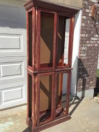 Curio Cabinet Furniture Best 25 Painted Curio Cabinets Ideas On Pinterest Glass Curio