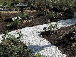Rock For Landscaping by Landscape Awesome White Landscaping Stone Ideas Glamorous White