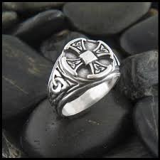 mens celtic rings celtic rings in sterling silver and 14k gold walker metalsmiths