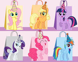 My Little Pony Gift Wrapping Paper - my little pony etsy