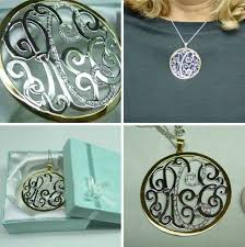 Monogrammed Pendant Necklace 587 Best Monogram U0026 Personalized Jewelry U0026 Gifts Images On