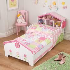Toddler Bed Down Comforter Kidkraft Dollhouse Toddler Bed U0026 Reviews Wayfair