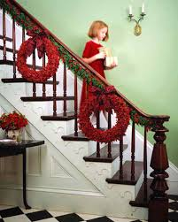 banister ideas decorating ideas juniper and garland