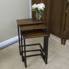 Sofa Table With Stools C Tables You U0027ll Love Wayfair
