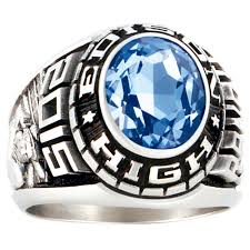 silver class rings images Medalist class ring siladium jpg