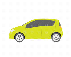 small green economy car vector image 335 u2013 rfclipart