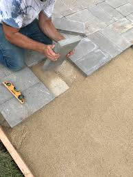 laying a paver patio how to lay a paver patio live work play utah