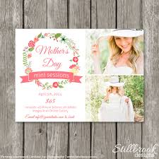 mother u0027s day mini session template marketing board mom u0026