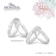 harga wedding ring wedding ring platinum by miss mondial bridestory