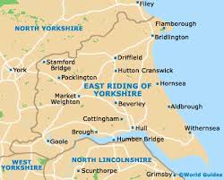 map of east uk hull maps and orientation hull east of