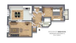 one bedroom apartment residence brehova