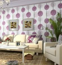 modern floral wallpaper purple floral wallpaper for modern family room inspiration ideas