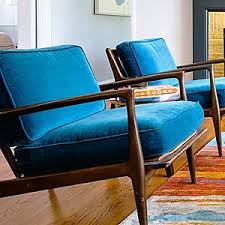Best  Blue Chairs Ideas On Pinterest Breakfast Nook Table Set - Blue living room chairs