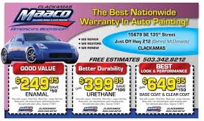 Maaco Paint Price Estimates by Coupon Maaco Collision Repair Auto Painting 7229 S Hulen St