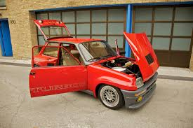 renault 1980 renault 5 turbo homologation version rally group b shrine