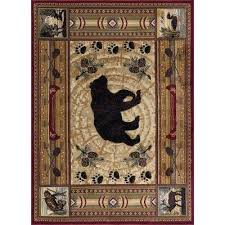 Nature Area Rugs Animal Print 5 X 7 Area Rugs Rugs The Home Depot