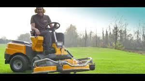 stiga park pro traktoriukas youtube