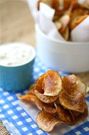 Cape Cod Russet Potato Chips - how to make homemade kettle chips and dip lauren u0027s latest
