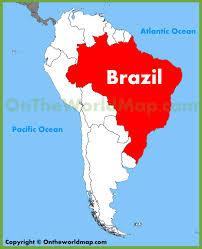 de janeiro on the world map world travel map brazil de janeiro with ruban maryna