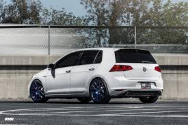 volkswagen gti wheels white golf vii gti with vmr v810 wheels vr world