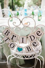 decorations for bridal shower to be mini banner to be chair sign bridal shower