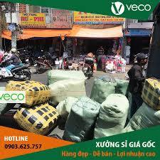 VECO chuyá ƒn hng thu đ´ng cho đại l½ sá ‰ tại TT quần áo trẠem giá sá ‰