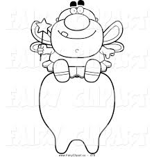 fantastic good tooth fairy coloring pages wall picture awesome