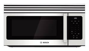 bosch 300 series 1 6 cu ft over the range microwave white