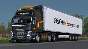 volvo truck range volvo fm 500 euro truck simulator 2 youtube