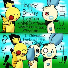 Pokemon Birthday Meme - happy birthday leslie by happyninjapichu on deviantart
