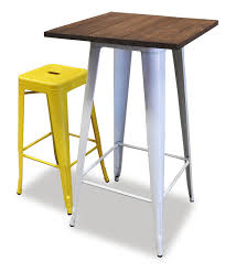 high table with bar stools replica tolix high table hire adelaide