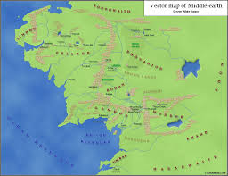 a map of middle earth www tolkien maps