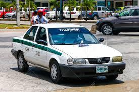 nissan tsuru taxi cancun mexico may 16 2017 motor car nissan tsuru in the stock