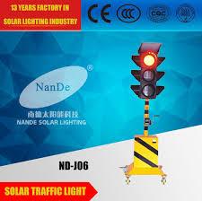 Solar Traffic Light - solar traffic light zhongshan nande solar lighting co ltd