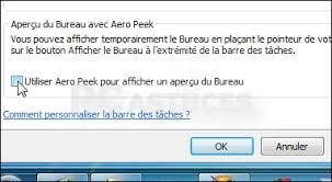 performance du bureau pour windows aero performance du bureau pour windows aero 56 images aero peek