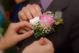 corsage pins corsage etiquette to pin or not to pin