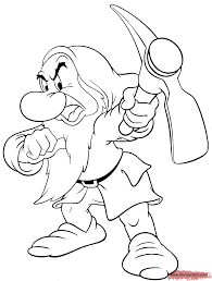 grumpy dwarf coloring page color me items pinterest grumpy