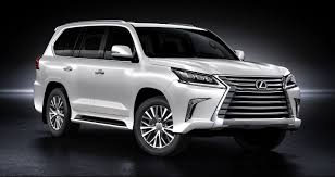 lexus new 2015 2016 lexus lx570 brings intimidating new face chasing cars