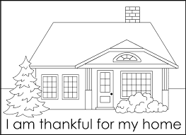 home coloring pages itgod me
