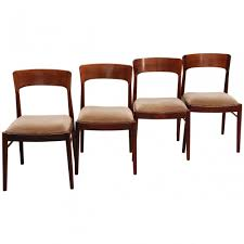 set of 4 lübke dinner chairs 1960s 43446