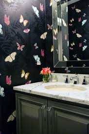 Wallpaper Bathroom Ideas by Best 25 Butterfly Bathroom Ideas On Pinterest Colour Swatches