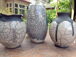 cool vases cool results from pots raku workshop part 3 bmore energy