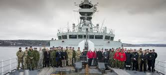 members of the round table partners in the north canada hosts the arctic security forces