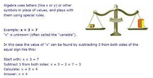 algebra revision u2013 st agnes c e primary