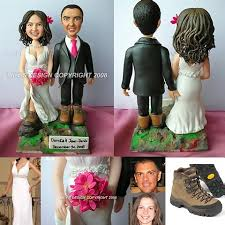 customized cake toppers hiker toppers hurley garda cake topper