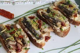 cuisiner les sardines tartines de sardines au beurre citron du jardin et du marché à l