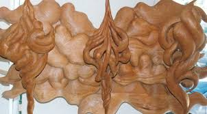 carved tree wall carved wood tree wall bearister me