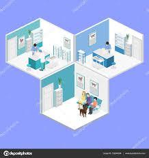 vet clinic floor plans isometric interior of veterinary clinic u2014 stock vector reenya