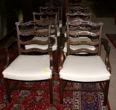 baker dining room chairs set of eight solid mahogany baker furniture dining room chairs